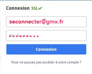 accès à gmx.fr