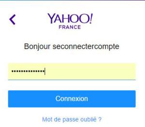 connexion compte yahoo