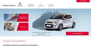 site officiel Citroën assurance