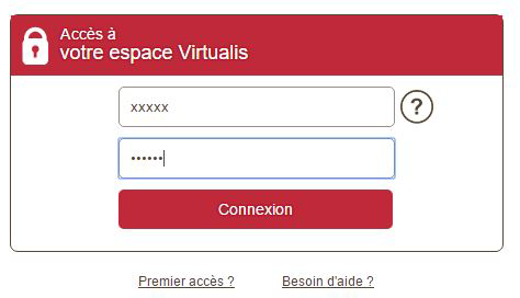 accès espace virtualis