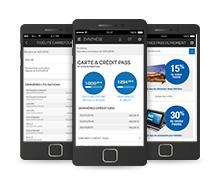 application smartphone tablette