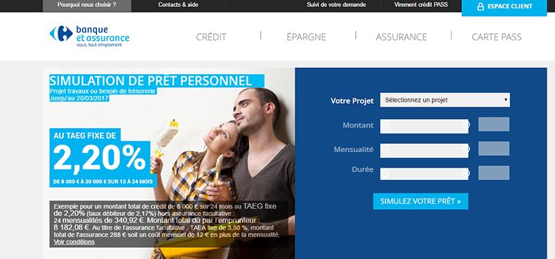 Comment Se Connecter A Mon Espace Client Www Carrefour Banque Fr