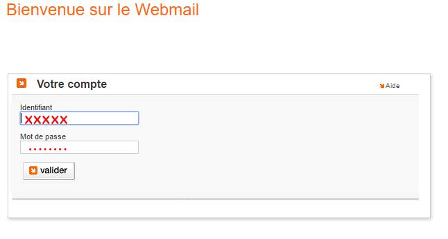se connecter à webmail orange