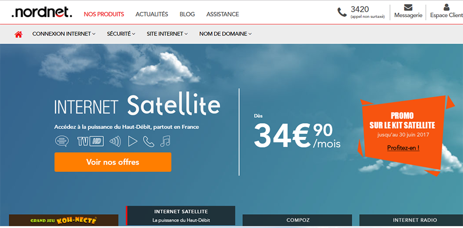 site officiel Nordnet
