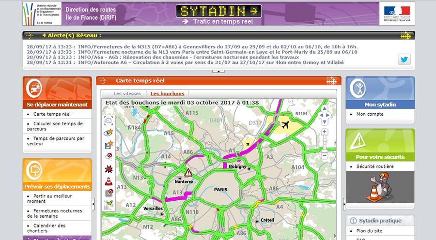 www.sytadin.fr