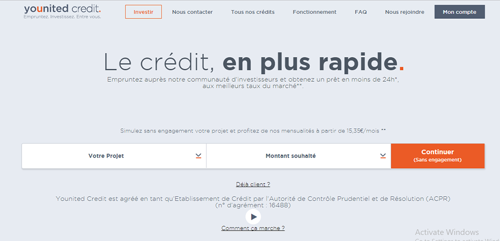 mon compte younited credit