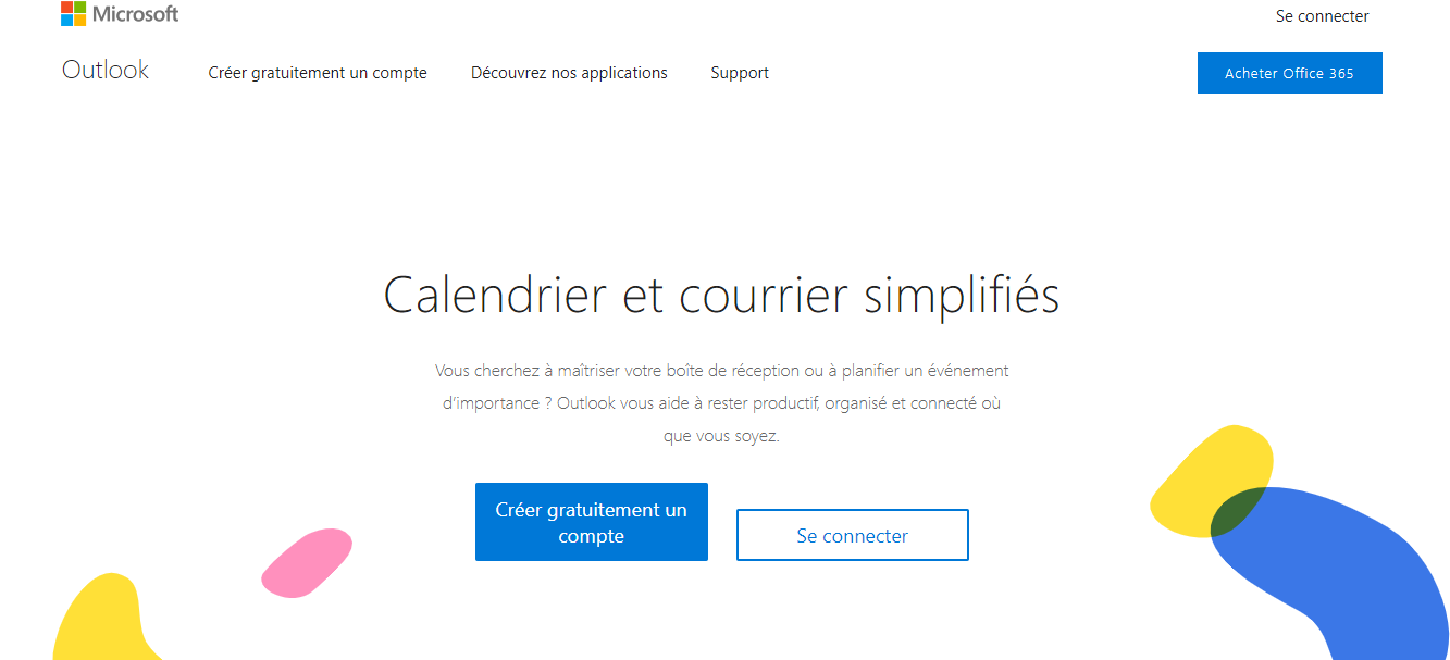 site messagerie outlook hotmail