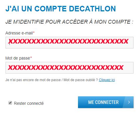 acces compte en ligne decathlon