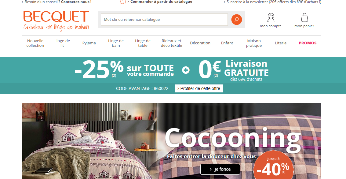 site internet becquet