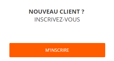 Creer compte client boulanger