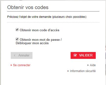 oubli code