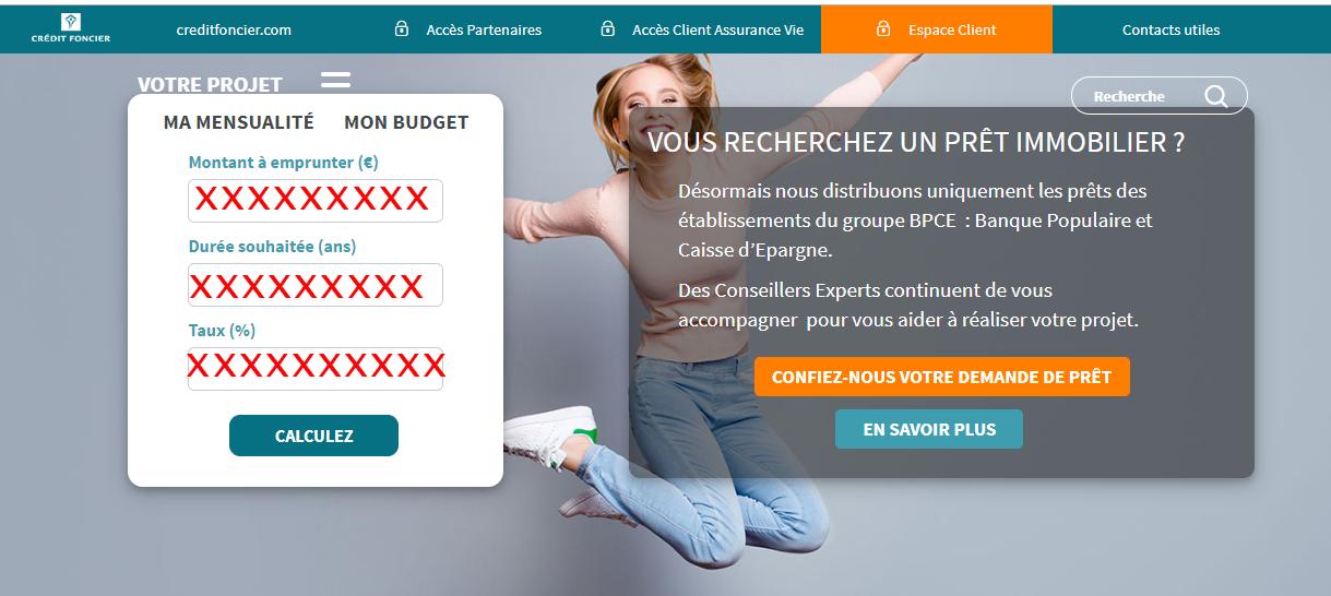 credit foncier france