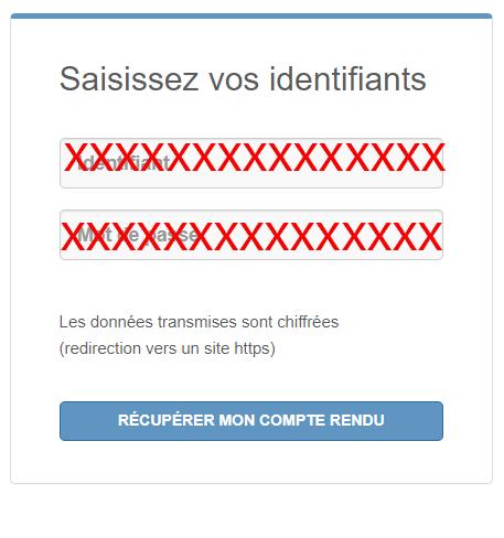 acces compte mesanalyses.fr