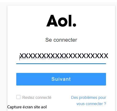 connexion compte aol