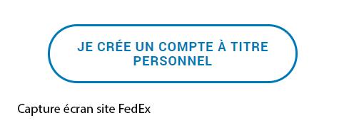 creation compte FedEx