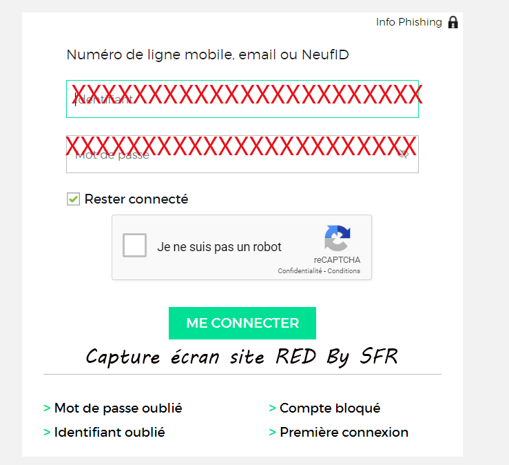 mon compte red by SFR