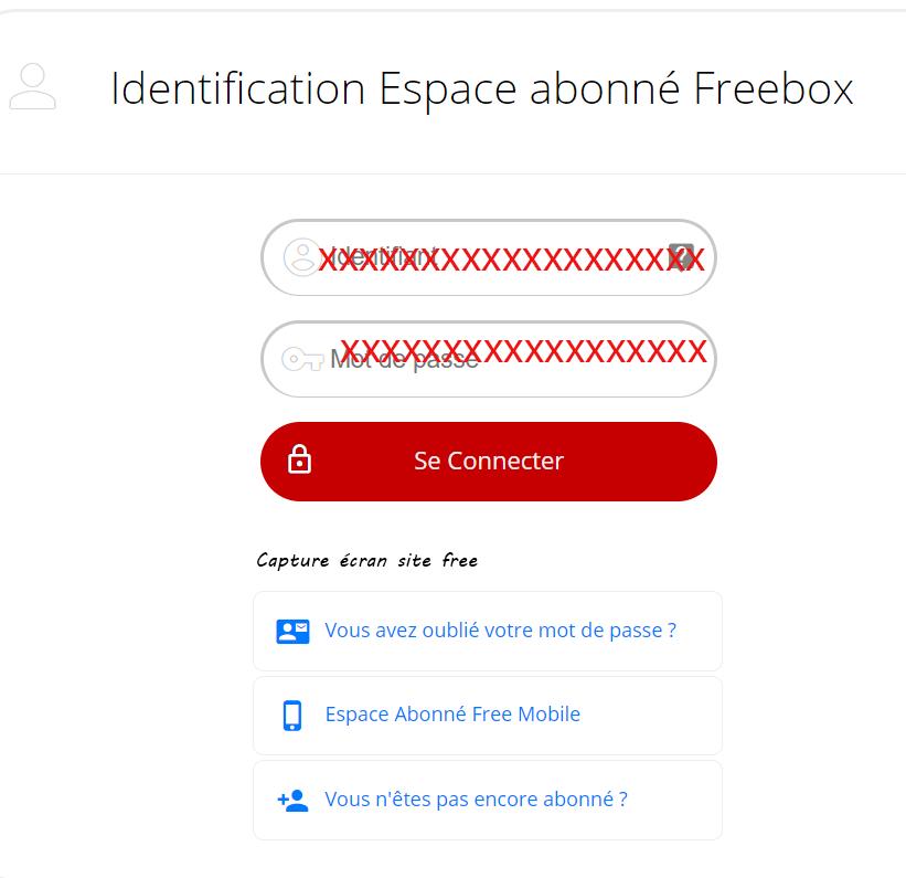 compte freebox