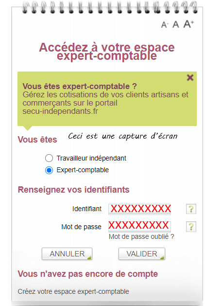 compte expert comptable